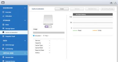 Tính năng Cache Acceleration trên QNAP và một số sản phẩm hỗ trợ SSD caching