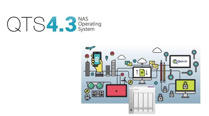 QTS 4.3 Intelligence in Motion & Hướng dẫn update Firmware 4.3