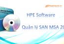 Quản lý HPE SAN MSA 2040 bằng SMU v3
