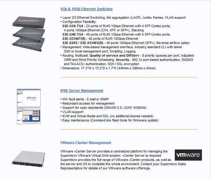Supermicro® Virtualization Solutions - NTC Cloud